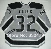 Cheap stitched 2014 NHL  Stadium Series /Los Angeles Kings LA Kings 32  Jonathan Quick  ice hockey jersey/shirt/sportswear