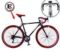 Luminous road bike variable speed highway bicycle 700c roadster 21