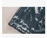 Free shipping! European big super beautiful sequined skirt package hip skirt | A stylish mini skirt