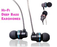 In-Ear Dynamic Closed Metal Shell Hi-Fi Headphones,Earphones,Deep Bass,With Microphone & Remote control,For Mobile phone,MP3,PC