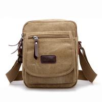 2014 men's current cross-body canvas shoulder messenger bag casual small handbag  free shipping