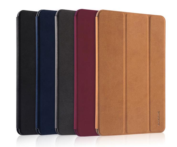 For iPad Mini Retina Original Baseus Simplism Series Wake Up Fold Stand Leather Case Smart Cover For iPad Mini 2 Retina(China (Mainland))