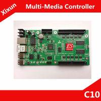 Super Good! Xixun C10 Single/ Two / Full color LED Controller Card Support Wireless WIFI/WAN/LAN/Internet/3G/RF/GPRS
