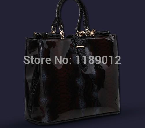 women's totes Serpentine leather jelly women's handbag wool work handbag cross-body bag women messenger bags(China (Mainland))