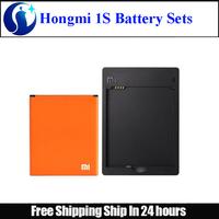 Original 2000mah Li-on Battery + Desktop dock charger Battery sets For xiaomi Hongmi 1S /Red Rice 1S Free shipping