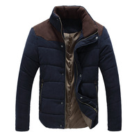 Big Sale ! Free Shipping Spring and Autumn Men's Long Sleeve Stand Collar Jacket Coat Outwear