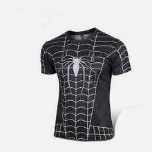 Free shipping 2015 t shirt Superman Batman spider man captain America Hulk Iron Man t shirt