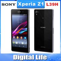 "L39 Original Sony Xperia Z1 C6903 L39h LT39H 20.7MP camera Quad-Core 5.0""TouchScreen 16GB Cell Phone Refurbished"