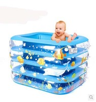 Child baby infant inflatable Large heat preservation thickening square circle baby swimming pool