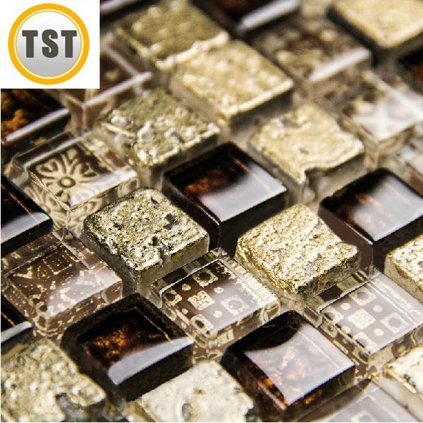 Online kopen wholesale goud moza ek tegel uit china goud moza ek tegel groothandel - Deco mozaieken badkamer ...