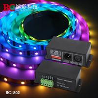 DMX512 Signal Decoder, Dream Color Decoder support LPD1101, D705, UCS6909, UCS6912