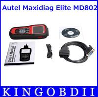 Best OFFER Supply Autel Maxidiag Elite MD802(4 systems) autel maxidiag elite md802 md 802 Pro+Free shipping+Original+Free Update