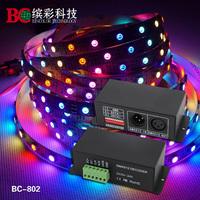 DMX512 Signal Decoder Dream Color Decoder support TLS3001,TLS3002 driving IC;Output TLS3001 Signal DMX Controller