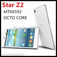 New arrival Star Z2 3G mobile phone MTK6592 OCTA core RAM 1GB ROM 8GB 5.0inch  854*480 IPS screen 8.0MP camera smartphone