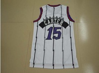 #15 Vince Carter Jersey,Rev 30 Throwback Basketball Jersey,Best quality,Authentic Jersey,Size S--XXXL,Accept Mix Order