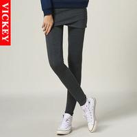 M-5XL Plus Size 2014 New Fashion Autumn Skiny Slimming Bodycon Pantskirts for Woman Women Female Outwear Legging V805