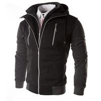 Korean Slim Hooded Zipper New coats Men Outwear Mens Special Hoodie Jackets Coat Men's Clothes Cardigan Style Jacket T415