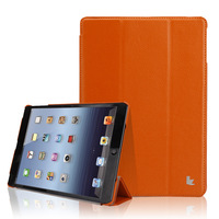2014 New  Brand Good Quality PU Material Fashion Elegant  Magnetic Front Smart Cover for ipad air 2  For ipad air 1 cover