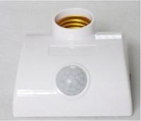 e27 led light base motion sensor lamp holder 3 years warranty , RF wireless switch remote control light bulb lamp holder