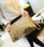 Dazzling Glitter Sparkling Bling Sequins Evening Party purse Bag Handbag Women Clutch wallet KZ030