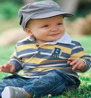 boys autumn long sleeve 2 pieces set  baby boy  clothes famous brand children fashion sport suit cheap baby items
