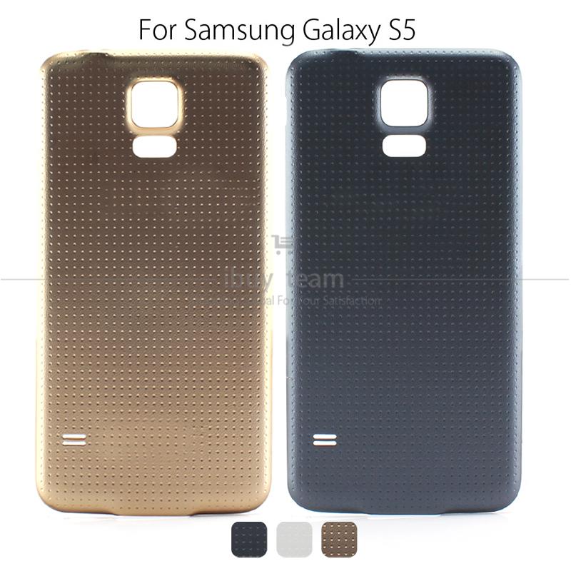 100% Original Battery Housing Back Cover Case for Samsung Galaxy S5 G9006V G900F/S/R4/P/T/9D/8V Cover Waterproof Dustproof Logo(China (Mainland))