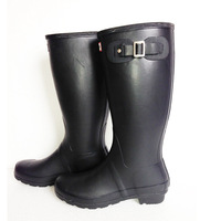 Free Shipping - Ms. shiny rain boots waterproof women wellies boots woman rain boots High boot rainboots