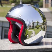 the 2014 new Adult brand casco capacete motociclistas 3/4 open face moto Vintage motorcycle helmet DOT ATV retro scooter helmets