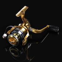 Gold MFD3000 Metal Head Gapless 11 Axes Fish Wheel Former Drag Spinnin Fishing Reel Fishing Wheels Roll Free Shipping