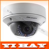 Fast shipping Hikvision DS-2CD2132-I 3MP Network Mini Dome Camera cctv camera 30M IR  Digital HD waterproof w/POE