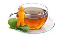 Free Shipping Fashion Mr Tea Infuser Loose Leaf Strainer Tea Bag Mug Filter Spice Fred (OPP bag package)