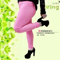 2014 summer models female models XL fat MM candy-colored leggings pants large yards color Wholesale summer hot models