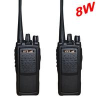 Hotselling 8W UHF Walkie Talkie with High Capacity 2800Mah Li-ion Battery Free Shipping