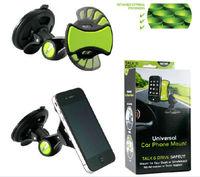 New GripGo Universal Car Mobile Cell Phone Mount GPS Hands Navigation Holder Grip Go Car Clingo Hands Holder