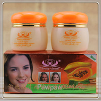 100% papaya extract freckle remover day cream and night cream    free  shipping
