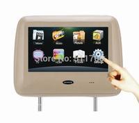 2x Car Headrest Monitor,9 Inch Digital Touchscreen,800x480,1 HDMI Input,Car MP3/MP4/MP5 Player Headrest Monitor