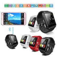 New U8 Smart Wrist Watch Bluetooth Smart Watch Smartwatch Sync Handsfree for iphone 5 5C 5S Samsung Galaxy HTC LG Sony 5pcs/lot