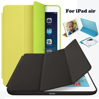 New 2014 Ultra Slim Smart Case For Apple iPad Air Case 1:1 Original Design Stand Tablet Leather Case For iPad 5 iPad Cases Cover
