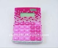 Free shipping! Bling bling rhinestone calculator (10pcs/lot)+100% handmade set with diamond