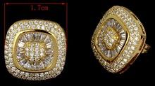 2015 Promotion New Women Earings Aaa Cubic Zirconia Shape Earrings Statement Jewelery Allery free Propose Marriage