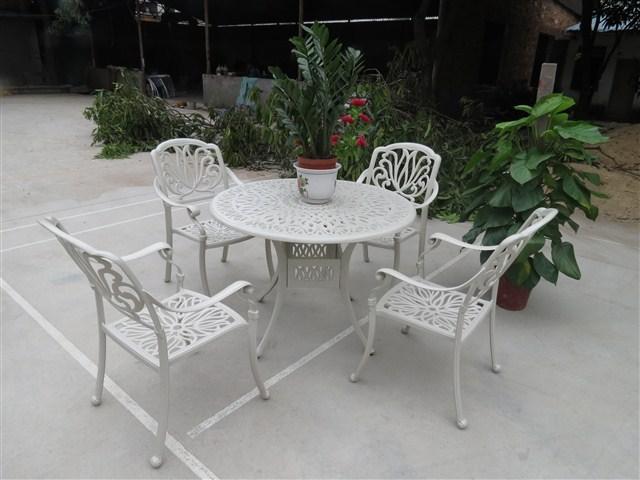Meubles-de-jardin-en-fonte-d-aluminium-loisirs-chaises-et ...