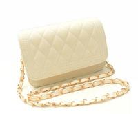 Free Shipping New Arrival Women Messenger Bag Solid Color Woman Chain Shoulder Bag for 2014 morer #432
