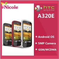 Original HTC Desire C A320e GPS Wi-Fi 5.0MP 3.5TouchScreen 3G Phone Refurbished SG Post Free shipping