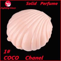 1# new 2014 perfume American brand ladies shell perfum magic solid perfume perfumes many fragrance for chooce