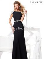 2014 new arrival high quality handmade custom formal evening dress sparkling crystal diamond long mermaid prom dresses