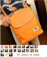 2014 women Hot Celebrity Tote Shoulder Bags Woman HandBag fashion designer shoulder bag Girl Faux Leather Handbag 21 Colors