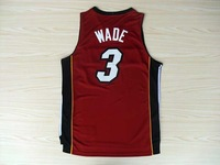 Miami #3 Dwyane Wade Jersey,Cheap Basketball Jersey,New Material Rev 30 Authentic Jersey,Basketball Shirt,Embroidery Logo