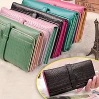 European American style brand women  wallets card holder coin case women long purses case iphone clutch wallet/purse WFCWL00191