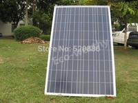 100w 18v A grade  poly solar panel, solar module for 12v battery, RV boat, car, solar system