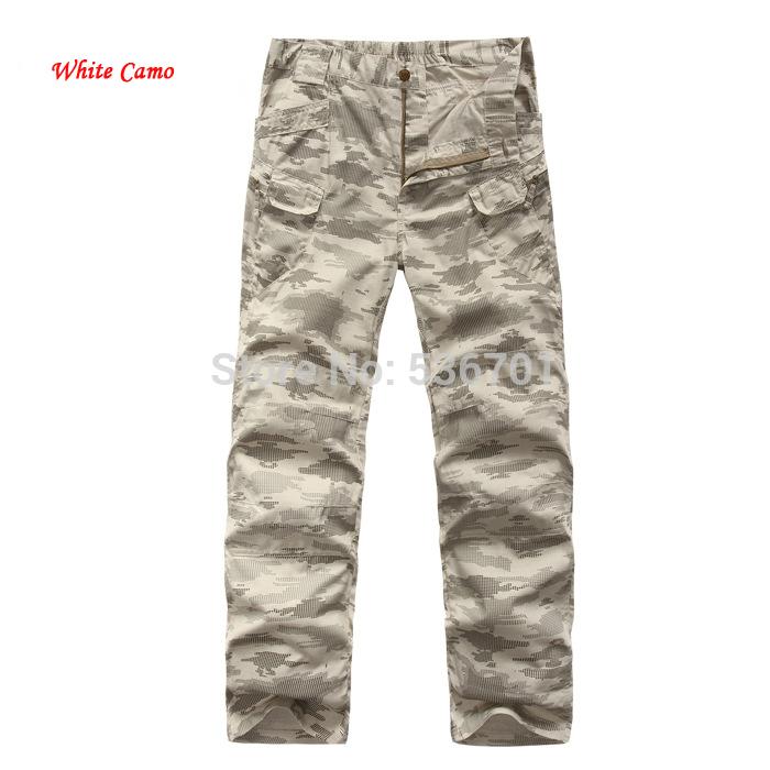White Camo Cargo Pants White Camo Cargo Pants